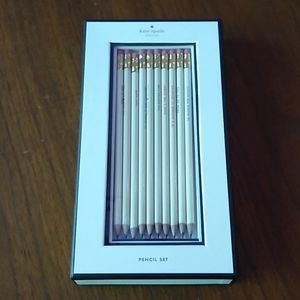 Complete Kate Spade pencil set